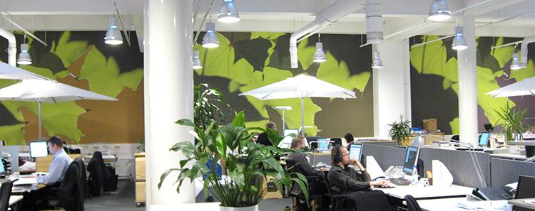 Toile imprim e en impression num rique grand format - Accrocher toile au mur ...