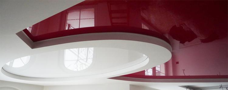 plafond tendu en pvc swalline des plafonds brillants et clatants plafonds tendus en toile pvc. Black Bedroom Furniture Sets. Home Design Ideas