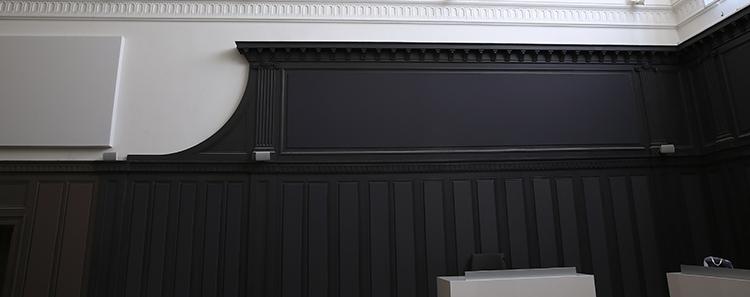 tissu tendu solution murale d co isolation thermique et phonique. Black Bedroom Furniture Sets. Home Design Ideas